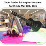 Zoom Toddler and Caregiver Storytime